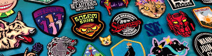 Fire Patch Design Online Custom Embroidered Patches Stadri Emblems