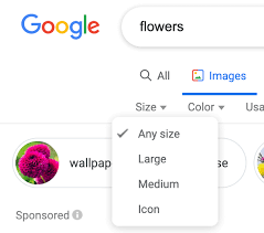 Google Image Search Removes Exact Size Larger Than Tools