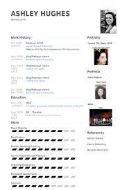 makeup artist resume exle