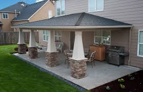 attached covered patio ideas. Luxurious Covered Patio Ideas Pictures Within Designs On A Budget Attached.  Roof Attached Covered Patio Ideas