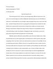 lincoln q s history midterm exam pt ii book essay 4 pages spirited away review