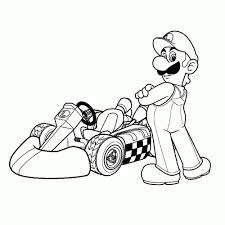 55 Super Mario Luigi Kleurplaat Beste Kleurplaat Website Beste