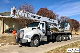10k Lull Load Chart Manitex 40142 Shl Boom Truck Crane Mounted To 2019 Kenworth
