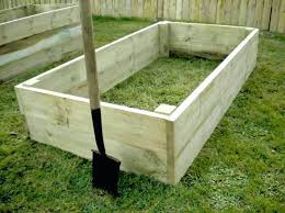 raised bed kits an empty raised bed before soil is added metal raised bed kits uk