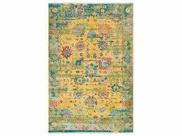 surya festival rectangular yellow green blue area rug fvl 1005 rec