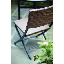 martha stewart living franklin park wicker folding patio dining chair at the home depot mobile