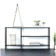 narrow glass console table small black console table narrow console table holly amp martin black w narrow glass console table