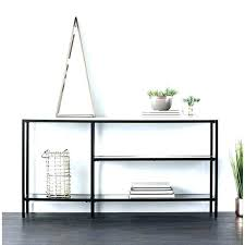 narrow glass console table small black console table narrow console table holly amp martin black w narrow glass console table