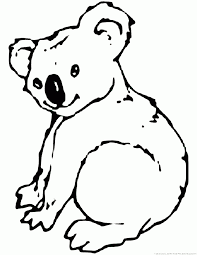 Small Picture Koala Coloring Pages Part 2