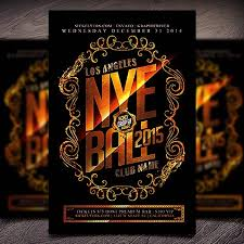26 Best New Year Flyer Template Images On Pinterest New Years Eve ...