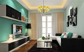image of modern living room paint schemes