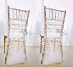 charming white lace wedding chair covers custom made groom and bride chiavari chair slipcover wedding accessories wedding chair cover lace wedding chair