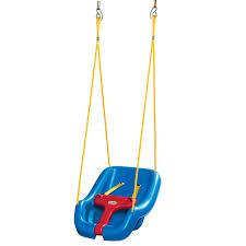 2-in-1 Snug 'n Secure Swing - Blue | Little Tikes
