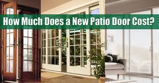 patio door cost new jersey new york