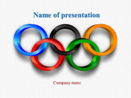 Design An Olympic Medal Template Download Free Olympic Sports Powerpoint Template For Your