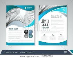 Layout Design Modern Blue Brochure Design Brochure Template ...