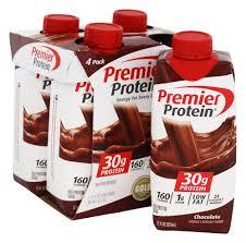 high protein shake chocolate 4 packpremier protein
