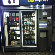 Best Buy Vending Machine Adorable Photos At Best Buy Express Dallas TX