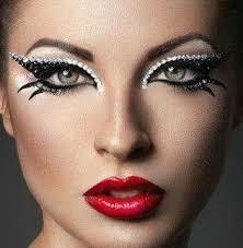 ballroom dance makeup photo courtesy of ballroomdancefashion via