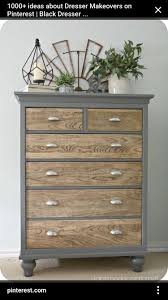 two tone furniture painting. Two Tone W/ Wood Dresser Idea · Refinished FurnitureUpcycled FurniturePainting Furniture Painting