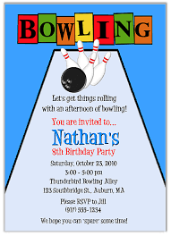 Free Free Printable Bowling Party Invitation Templates