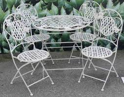 outdoor wrought iron furniture. White Wrought Iron Furniture Outdoor Awesome Patio Antique Garden Uk