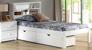 platform bedSOLID WOOD BOOKCASE PLATFORM SHOWN IN WHITE WITH ...
