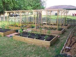great garden setup raised garden