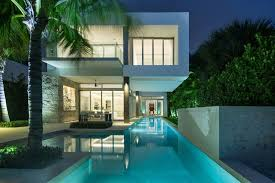 simple modern home design. Pool Concept Glass Dining Room Ideas Luxuruious Florida Luxury Dream  Home White Stucco Keystone Simple Modern Design -