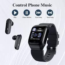 Đồng Hồ Thông Minh S300 2020,Tai Nghe Không Dây 2 Trong 1,Vòng Đeo Tay Thể  Thao Theo Dõi Sức Khỏe,Rảnh Tay,Kèm Đồng Hồ Thông Minh - Buy Smart Watch 2  In 1