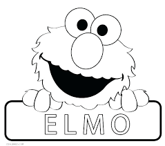 Elmo Birthday Coloring Pages To Print Sesame Street Coloring Pages