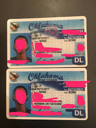 Oklahoma Maker Id Fake Card