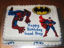 Superhero Sheet Cake Baby Shower Pinterest