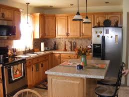Kitchens With Slate Appliances Oak Kitchen Cabinets With Slate Appliances Quicuacom