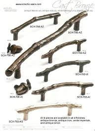 rustic cabinet handles. Rustic Cabinet Hardware Cast Bronze Collection Of Oak Twig Handles And Acorn Shaped Knobs .