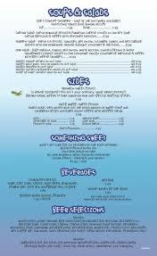 Blue Light Grill Menu Melbourne Main Menu Squid Lips Overwater Bar Grill