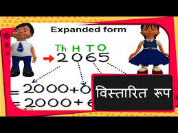 Ones Tens Hundreds Chart In Hindi