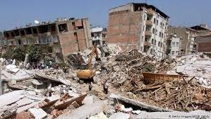 Eine serie heftiger erdbeben im südpazifik hat zu das schwere erdbeben am freitag hatte das gebäude zerstört. Istanbul Das Erdbeben Risiko Wachst Europa Dw 17 08 2019