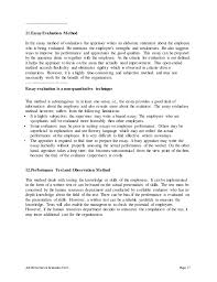contracting officer performance appraisal 17 job performance evaluation