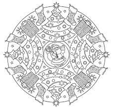 Mandala 613 Christmas Designs 3d Coloring Book Dover Publications