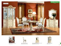 Rossella Dining Comp  Coffee And End Tables Living Room Furniture - Dining and living room sets