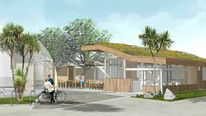 Small Picture Construction of Christchurchs new edible garden and cafe to start
