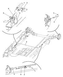 Cables rear parking brake for 2005 dodge grand caravan