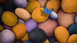 3d Wallpaper Hd For Laptop - Blue Rocks ...