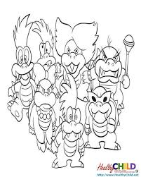 Small Picture Mario Enemies Coloring Pages Coloring Coloring Pages
