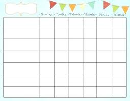 Printable Family Chore Chart Template Free Printable Family Chore Charts Horneburg Info