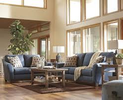 Living Room Furniture Columbus Ohio Janley Denim Sofa Loveseat 43807 38 35 Living Room