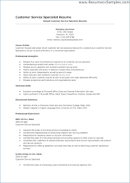 Customer Service Resume Summary Classy Customer Service Resume Objective Or Summary Rapidresultsresumesnet