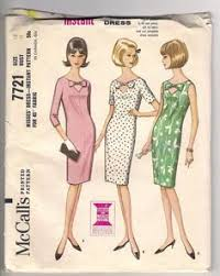 Mccalls Patterns Inspiration 48 Best FIGURINES Images On Pinterest Vintage Dresses Vintage