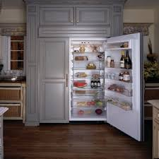 thermador undercounter refrigerator. thermador kbuit4870a - kitchen view of custom panel undercounter refrigerator